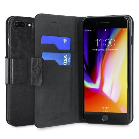 Dompet Mofi Leather Slim Stand Flip Cover Casing Xiaomi Redmi 1s olixar leather style iphone 8 plus 7 plus wallet stand