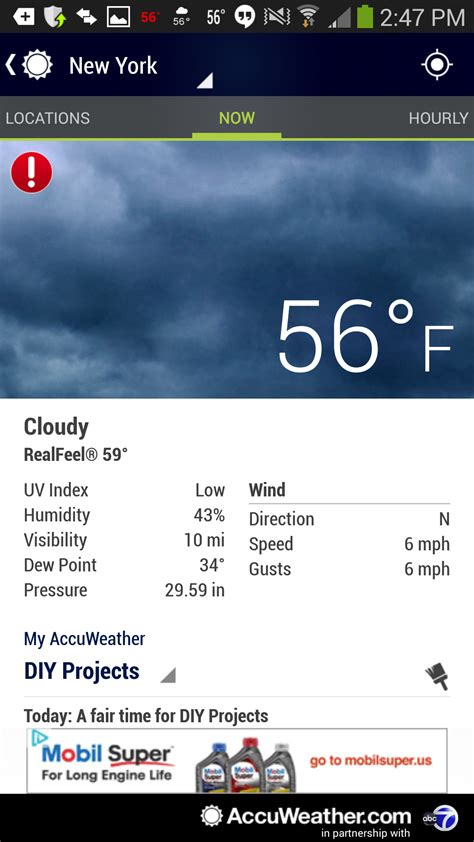 accuweather for android android apps reviews news tips - Accuweather App For Android