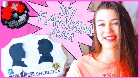 fandom bedroom diy tumblr inspired fandom room decor with glamwithjessie