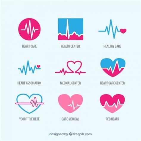 health care logos vector premium