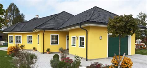 Haus Bauen Mit Grundstück 2632 by Bungalow Fertighaus B3 Mit Walmdach Obersteiermark