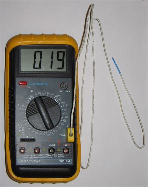 Termometer Gas sains suhu dan alat pengukur suhu