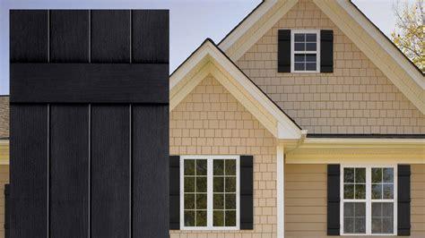 board and batten exterior vinyl shutters by window world