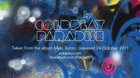 coldplay paradise coldplay paradise official youtube