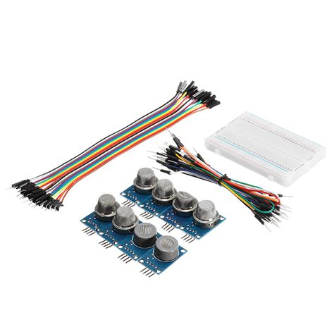 Kabel Jumper Breadboard Arduino Wire Sensor Cable B 9pcs mq gas sensor module with breadboard jumper wire for arduino with box package alex nld