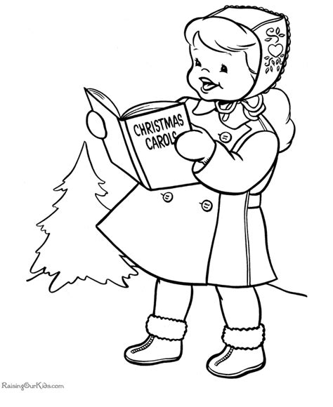 coloring page christmas carolers charles dickens coloring pages