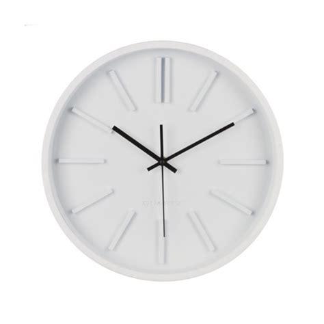 horloge design murale horloge murale design 35 cm blanc maison fut 233 e