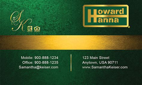 howard business card template howard business cards templates printifycards