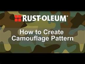 how to paint colors how to spray paint a camouflage pattern