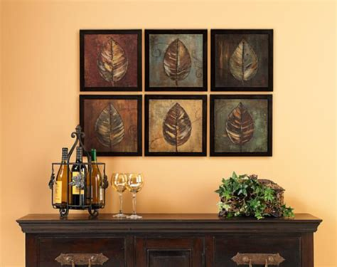 wall art for dining room contemporary six panels of wall art make a graphic impact in this