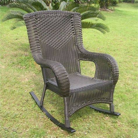 high back rocking chair outdoor san tropez high back outdoor patio rocking chair 4007 xx