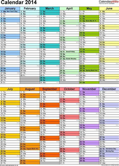 printable 2014 year planner uk excel year planner calendar 2014 uk 15 free printable