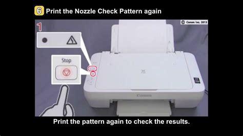 Pixma Mg2420 Mg2520 Uneven Printing Faint Printing