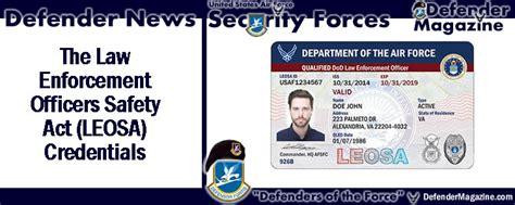 LEOSA | USAF Defender Magazine Leosa Police