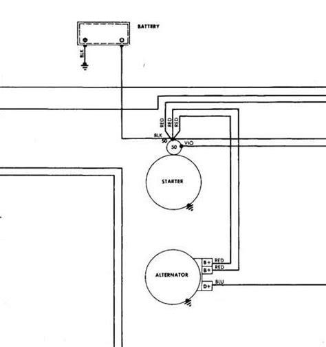 mercedes wiring diagram altermator wiring diagrams