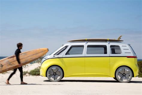 volkswagen minibus electric volkswagen is an electric autonomous version of