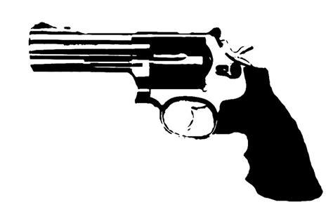 printable gun stencils revolver stencil template stencil templates pinterest