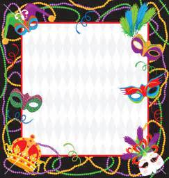 mardi gras invitation template best template collection