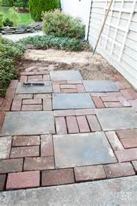 simple paver stone walkway in my own style