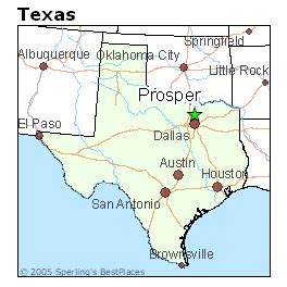 map of prosper texas best places to live in prosper texas