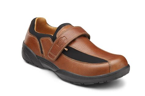 Comfort Footwear by Douglas Casual Comfort Orthopedic Shoes For Chestnut