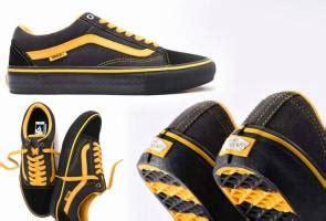 Skatebord Tonyhawk Bekas vans pilih padin musa sebagai inspirasi kasut signature