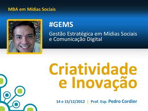 E Mba ücretleri by Pedro Cordier Comunica 231 227 O Criatividade E Conectividade