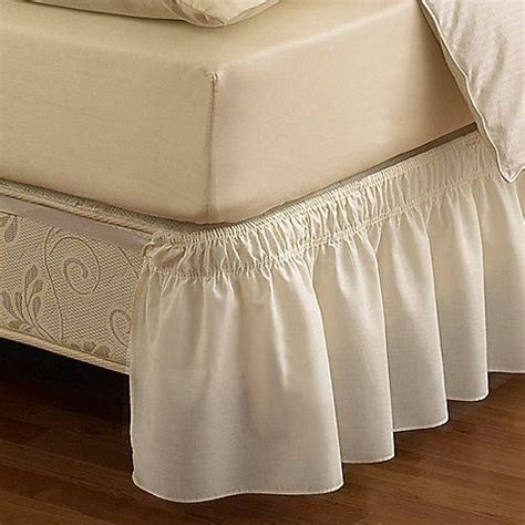 Bed Bath And Beyond Bed Skirts by Bed Bath Beyond Detachable Bed Skirt For The New Apt