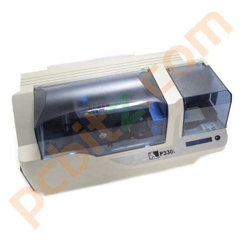 Printer Zebra P330i zebra p330i plastic id usb card printer read description printers