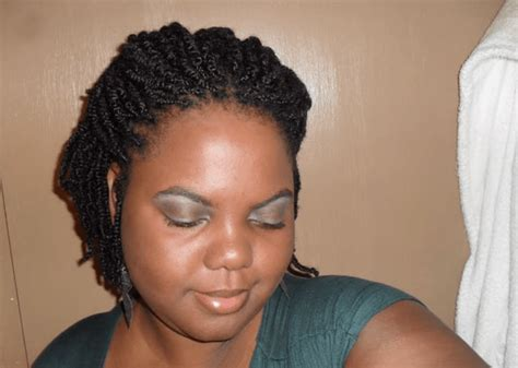 short kinky hair styles gorgeous kinky twists hairstyles w how to video tutorials