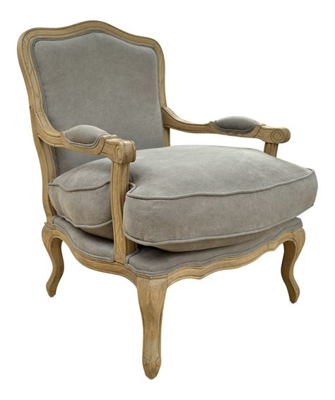 Occasional Armchairs Uk by Style Louis Armchair Solid Oak Dove Grey