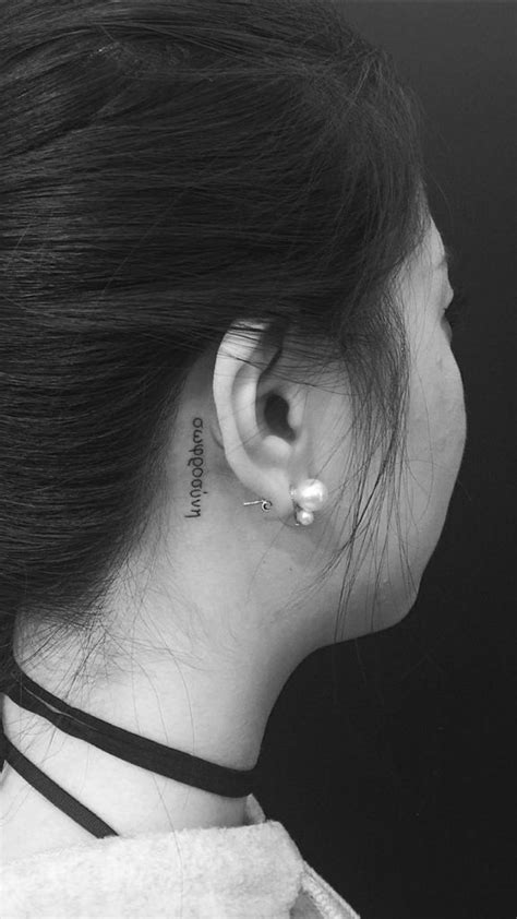 california tattoo behind ear 1000 images about best beauty trends on pinterest