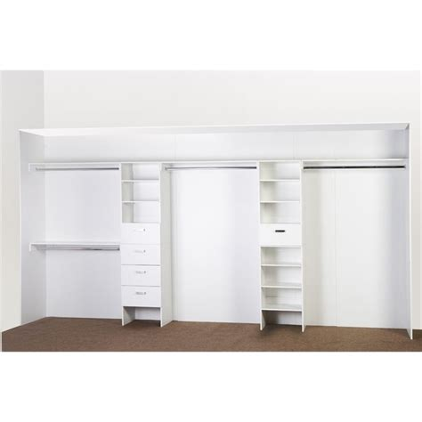 bedford wardrobe shelf unit i n 2580853 bunnings