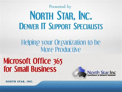 Office 365 Business Support Introduction To Microsoft Office 365 For Small Business