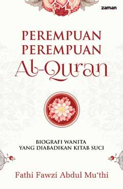 Buku Istri Istri Nabi Yang Suci perempuan perempuan al quran biografi wanita yang