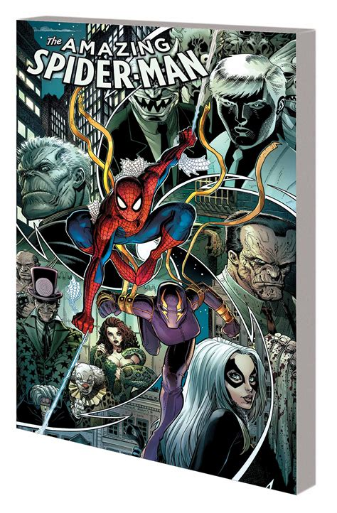Amazing Spider Vol 5 Spiral Marvel Graphic Novel Ebooke Book jul150836 amazing spider tp vol 05 spiral previews