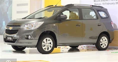 Emblem Chevrolet At 6 Untuk Spin dunia otomotif akhirnya chevrolet spin meluncur di indonesia