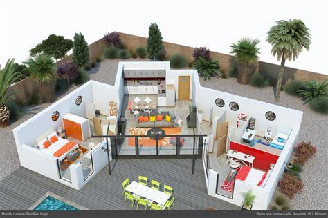 Plain Lumiere achat maison lumi 232 re plain pied constructeur maison