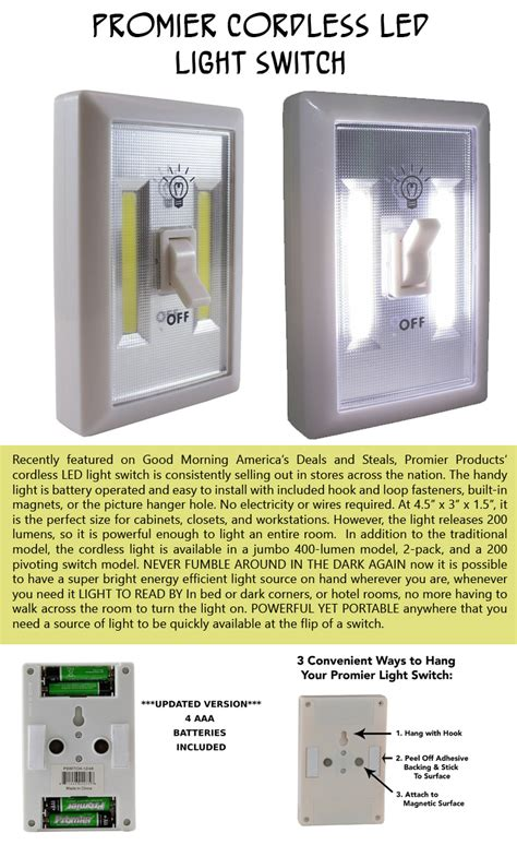 promier cordless light switch simple ideas that are borderline genius 10 pics