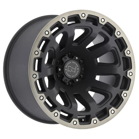 truck wheels razorback truck rims by black rhino