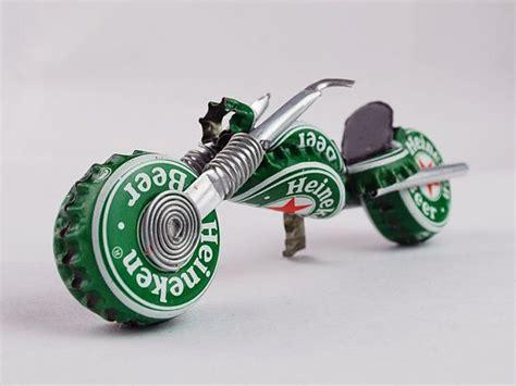 Motorrad Modelle Aus Draht by Heineken Chopper Purdy Geschenk Fer