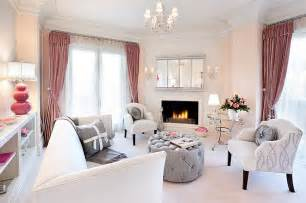 pink living room accessories beautiful pink decoration