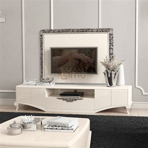 Meuble Plasma Design by Meuble T 233 L 233 Vision Plasma Design Baroque Laque Brillante