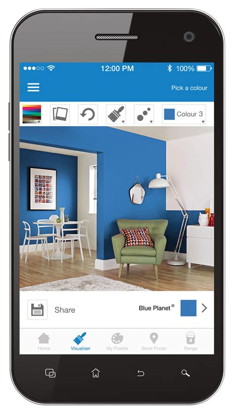room paint app remodelaholic free diy mobile apps to test paint colors blue room painting
