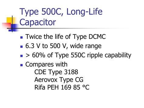 capacitor types ppt component identification ppt 28 images component identification ppt component