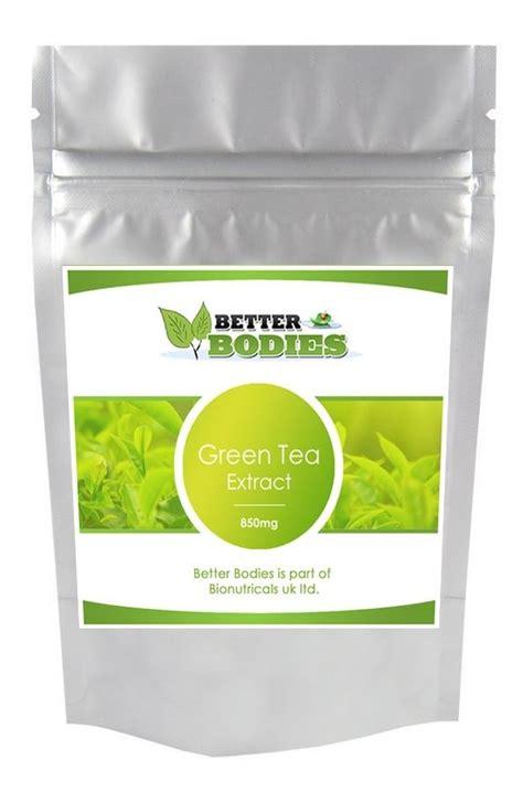 better bodies supplements better bodies high strength green tea extract 850mg weight