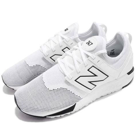 white new balance running shoes new balance mrl247wk d white black running shoes