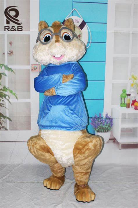 hitman absolution new year chipmunk costume high quality alvin and chipmunks szie mascot costume