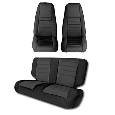 2003 Jeep Wrangler Seat Covers 2003 2006 Jeep Wrangler Smittybilt Neoprene Seat Cover Kit