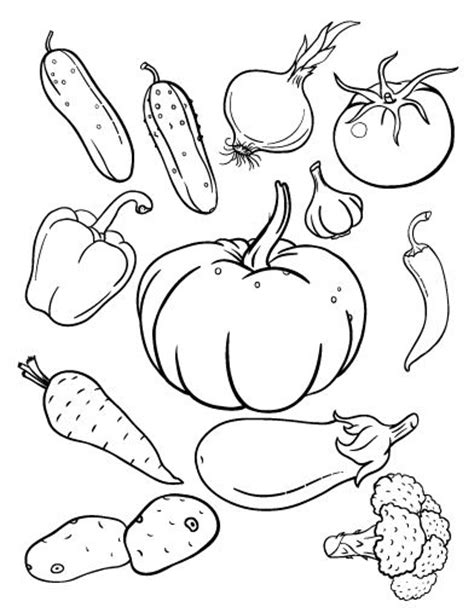 autumn vegetables coloring pages 1000 images about fruit and veggies theme on pinterest